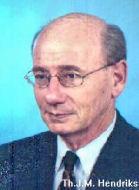 Tweede Kamerlid Th.J.M. Hendriks