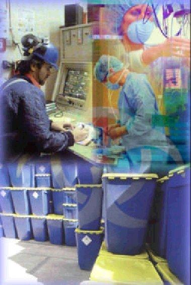 Ziekenhuisafval verwerking
